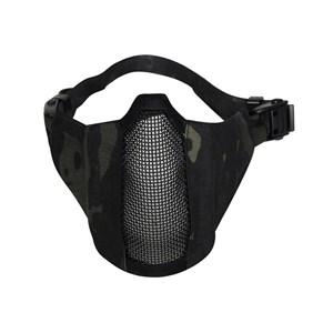 Máscara de Proteção Airsoft Meia Face FJA-122 Black