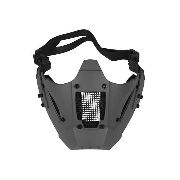 Máscara de Proteção Airsoft Meia Face FJA-126 Jay Fast Cinza