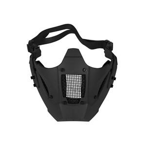 Máscara de Proteção Airsoft Meia Face FJA-126 Jay Fast Preta