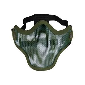 Máscara de Proteção Airsoft Meia Face Green