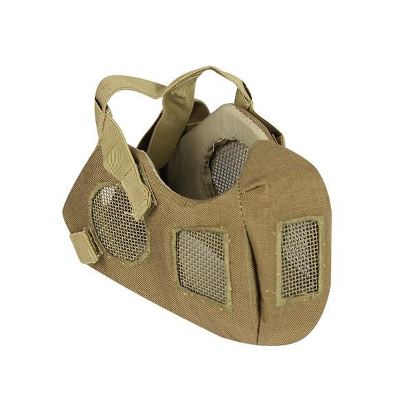 Máscara de Proteção Airsoft QGK Conquerors CS Tactical Tan