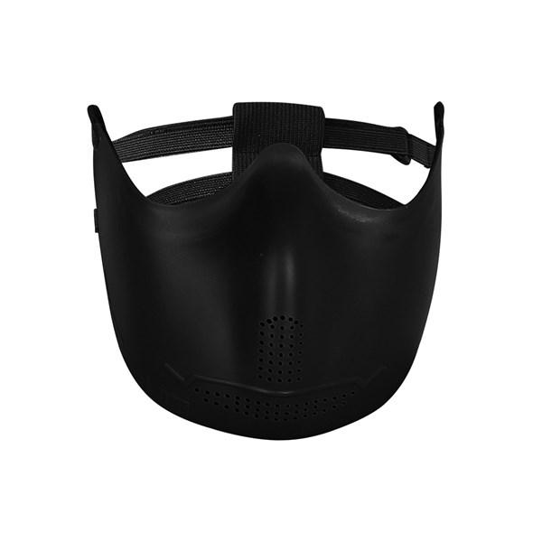 Máscara de Proteção Iron Face Borracha Flexível Preta