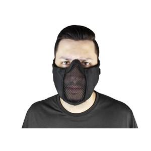 Máscara Meia Face Tela Para Airsoft Jersey Comfort Preta FJA-123 – Feasso