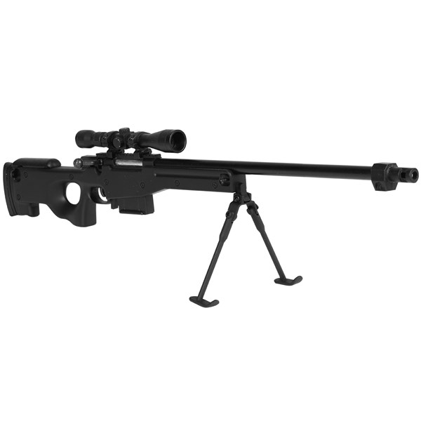 Miniatura em Metal Sniper AWP L96 Black