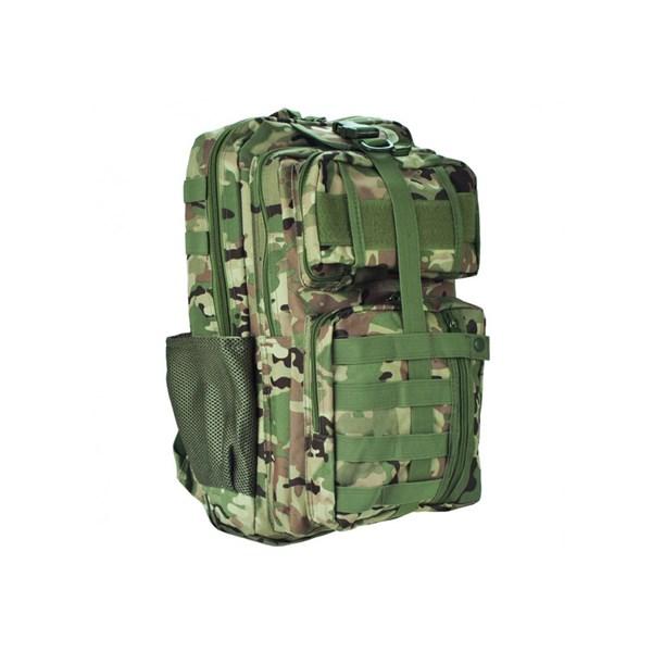 Mochila Tática Modular Camuflada Multicam - Bravo Militar