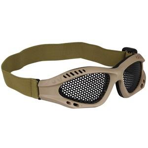 Óculos de Proteção Tan Tela de Metal - AR+