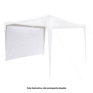 Parede para Gazebo - Tenda Fiesta Branco - Nautika
