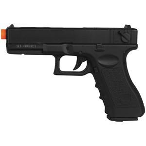 Pistola Airsoft Elétrica Cyma Glock G18C CM.030 Semi-Metal Bivolt