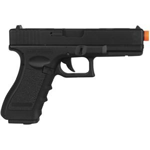 Pistola Airsoft Elétrica Cyma Glock G18C CM.030 Semi-Metal Bivolt + Case Maleta