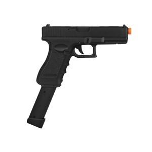 Pistola Airsoft Elétrica Cyma Glock G18C CM.030 Semi-Metal Bivolt + Magazine