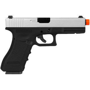 Pistola Airsoft GBB Army Armament Glock R17 Silver Semi-metal
