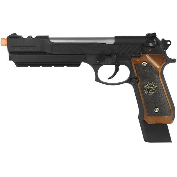 Pistola Airsoft GBB WE M92 Biohazard Barry Burton Full Metal