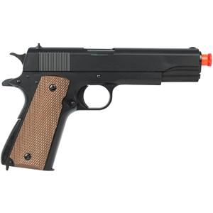 Pistola Airsoft Spring Colt 1911 Military - UHC
