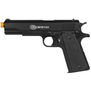 Pistola Airsoft Spring Colt 1911 Slide Metal 6mm - Cybergun