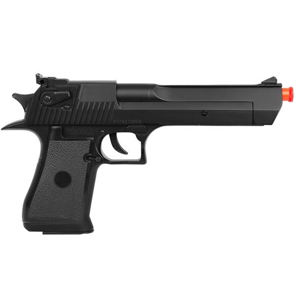 Pistola Airsoft Spring Desert Eagle Preta - UHC