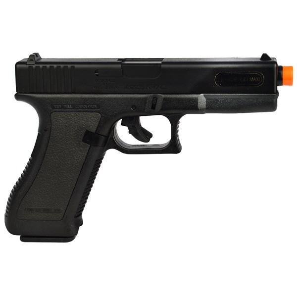 Pistola Airsoft Spring Glock G17 Preta - KWC