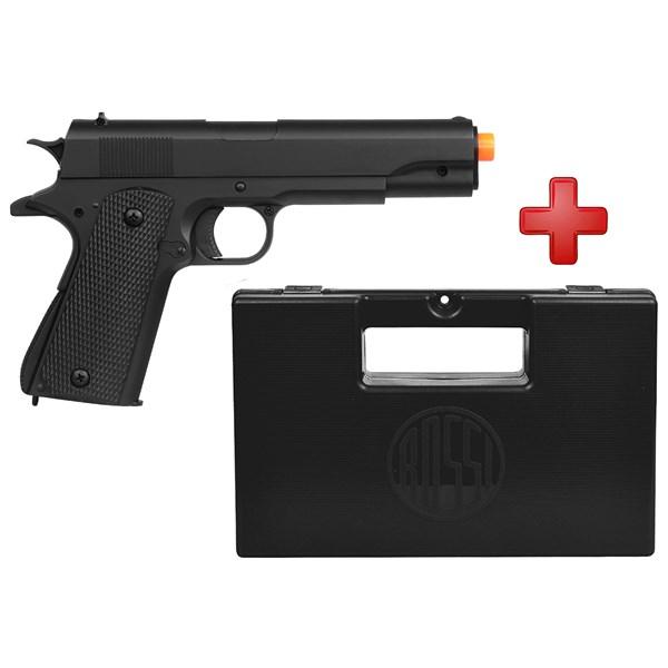 Pistola Airsoft Spring M292 Colt 1911 + Case Maleta