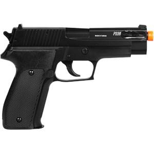 Pistola Airsoft Spring Sig Sauer P226 Slide Metal + Case Maleta + BBs BB King 0.12g