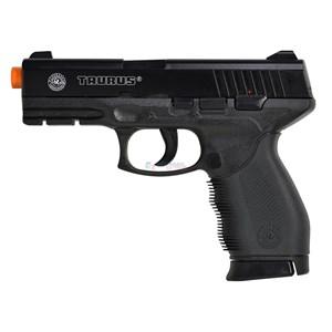 Pistola Airsoft Spring Taurus Black 24/7 Cybergun + Case Maleta + BBs Nautika