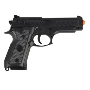 Pistola Airsoft Spring Vigor P92 + BBs Airsoft BB King 0.12g 1000un