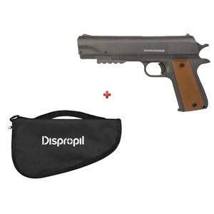 Pistola de Pressão APC QGK Fox 4.5mm + Capa Pistola Simples