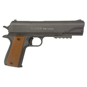 Pistola de Pressão APC QGK Fox 5.5mm + Capa Simples + Chumbo Dispropil 5.5mm + Alvo Papel 14x14