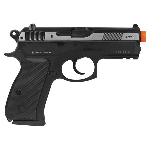 Pistola de Pressão CO2 ASG CZ 75D Compact Semi-metal 4.5mm
