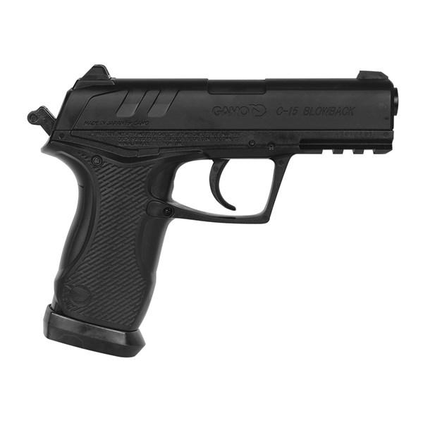 Pistola de Pressão CO2 C-15 Semi-metal 4.5mm - Gamo