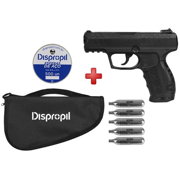 Pistola de Pressão CO2 Daisy 426 4.5mm + Capa + Cápsula de CO2 + Esferas de Aço 500un.