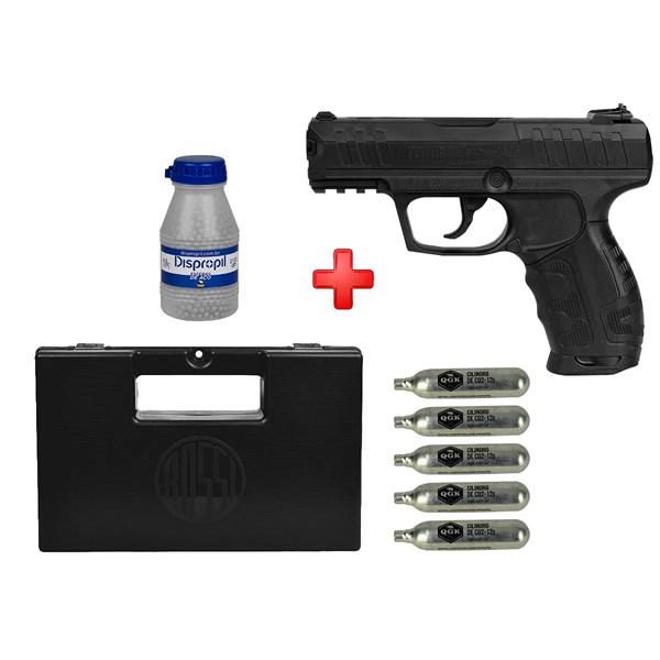Pistola de Pressão CO2 Daisy 426 4.5mm + Kit Munição + Case Maleta