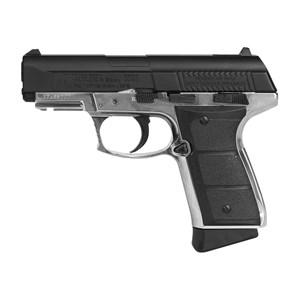 Pistola de Pressão CO2 Daisy 5501 Full Metal 4.5mm + Case + Cápsula de CO2 + Esferas de Aço 4100un.