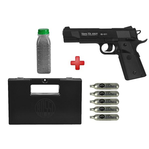 Pistola de Pressão CO2 Gamo Red Alert RD-1911 4.5mm