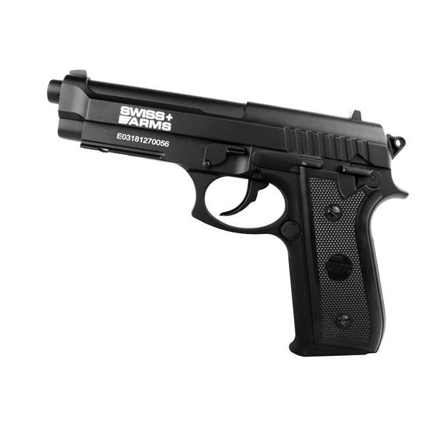 Pistola de Pressão Co2 Pt92 Slide Fixo Full Metal 4.5mm - Cybergun 288028