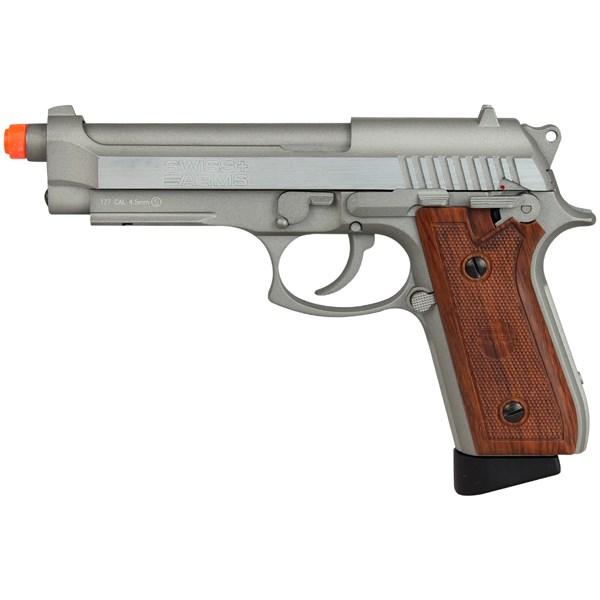 Pistola de Pressão CO2 Swiss Arms SA 92 Full Metal 4.5mm