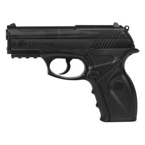 Pistola de Pressão CO2 Win Gun C11 4.5mm + Esferas de Aço 2100un. + 5 Cilindros CO2 + Capa Simples