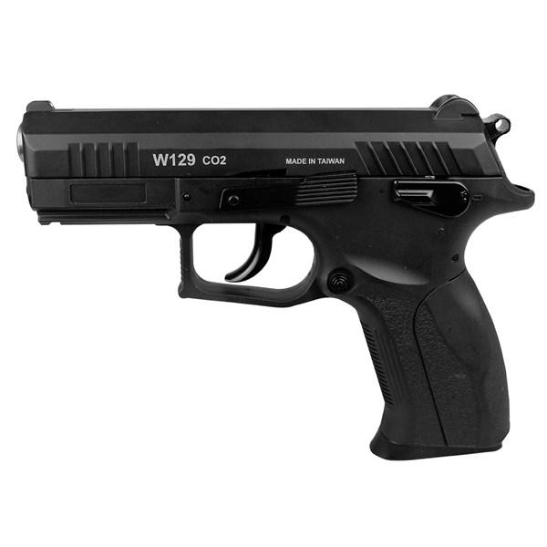Pistola de Pressão CO2 Win Gun CZ300 W129 Slide Metal 4.5mm