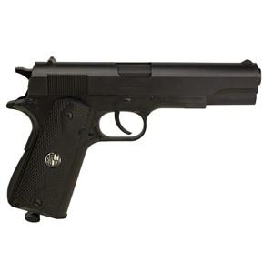 Pistola de Pressão CO2 Win Gun W125B 4.5mm + 05 CO2 + Esfera de Aço 4.5mm 500un + Óleo