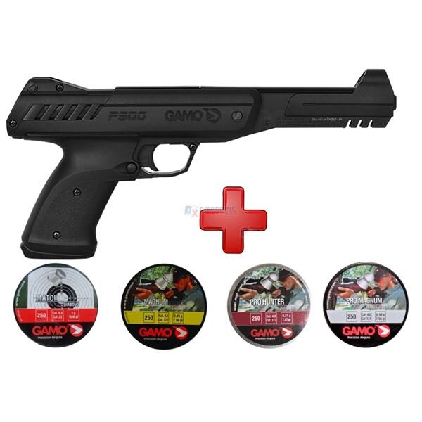 Pistola de Pressão Gamo P900 4.5mm + Kit Chumbinhos Gamo