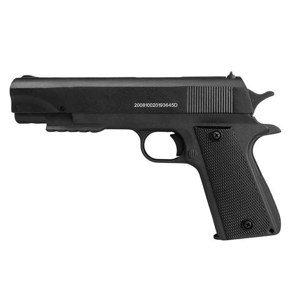 Pistola de Pressão Pump 1911 Fox Black Full Metal 4.5mm – QGK