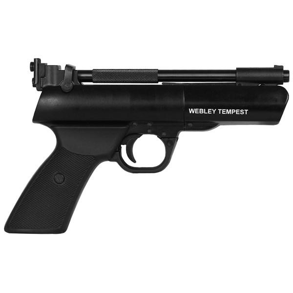 Pistola de Pressão Webley Tempest Full Metal 4.5mm