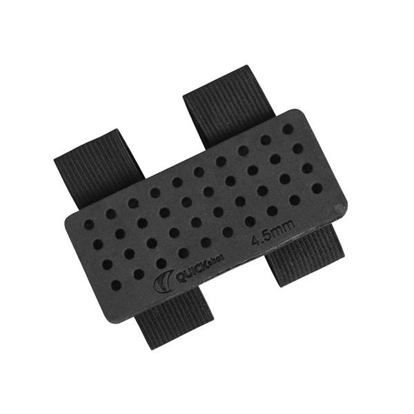 Porta chumbinhos em EVA para coronha - 4,5mm