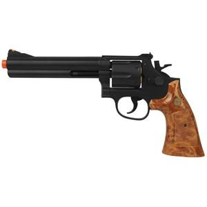 Revolver Airsoft a Gás UG-135B - M-586 6. BLACK 6mm - UHC