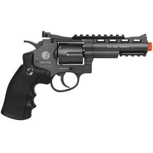 Revólver Airsoft CO2 Win Gun 701 4POL Full Metal