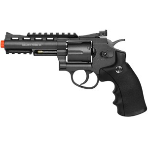 Revólver Airsoft CO2 Win Gun 701 Full Metal + 5 CO2 + BB King 0.20g 5000un