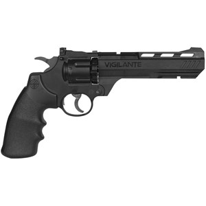 Revólver de Pressão CO2 Vigilante Semi-metal 4.5mm - Crosman