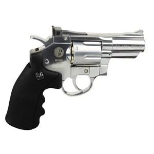 Revólver de Pressão CO2 Win Gun 708S Cromado 4.5mm - Rossi