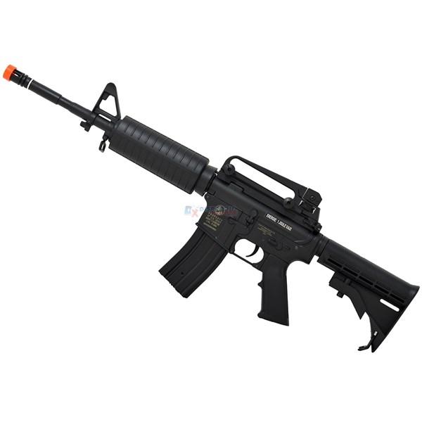 Rifle Airsoft Colt M4A1 CyberGun Carbine Elétrica Bivolt + Magazine