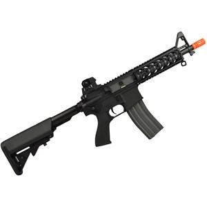 Rifle Airsoft Elétrico AEG M4 CM16 Raider Cqb Black 6mm - G&G Armament