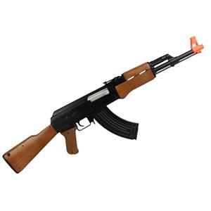 Rifle Airsoft Elétrico Cyma AK47 CM.022 + Capa 90x30cm + Velozter 0.12g 2000un + Óleo de Silicone