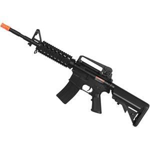 Rifle Airsoft Elétrico Cyma M4 RIS CM507 Bivolt + Capa Simples